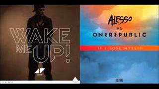 Alesso & OneRepublic vs Avicii   If I Lose Myself vs Wake