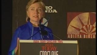 India Today Conclave: Session With Hilary Clinton