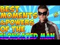 BEST MOMENTS AND POWERS OF THE ELONGATED MAN!!!