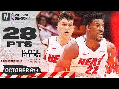 Jimmy Butler & Tyler Herro Miami Heat Debut Highlights vs Spurs | October 8, 2019