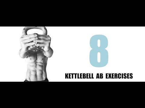 8 KETTLEBELL AB EXERCISES