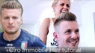 Ciro Immobile Inspired Hairstyle | Men