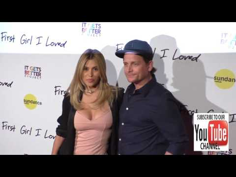 Rachel Sterling and Damian Whitewood at the Premiere Of PSH Collective's First Girl I Loved at Vista