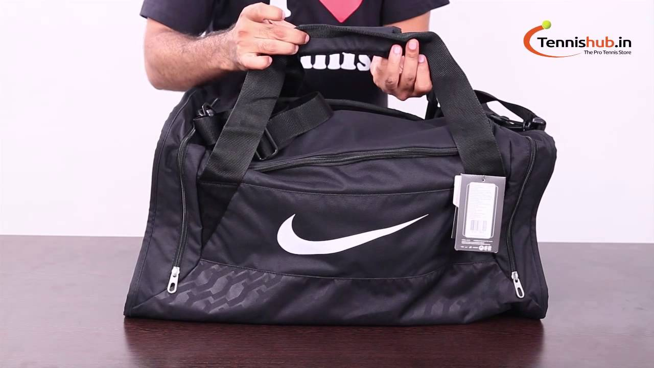 Nike Brasilia 6 Medium Duffel - YouTube cb5ebc362a853