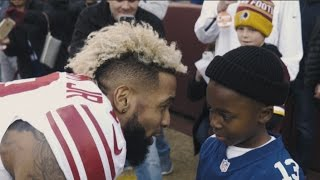 Odell Beckham Jr. Holiday Surprise Turns into Meeting! Must See!