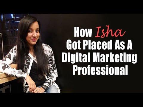 Digital Marketing Job: How Isha Got Placed While Doing The Marketing Nerdz Course!