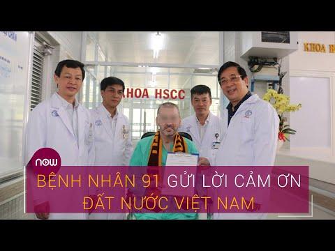 Phi công người Anh (bệnh nhân 91) gửi lời cảm ơn đất nước Việt Nam | VTC Now