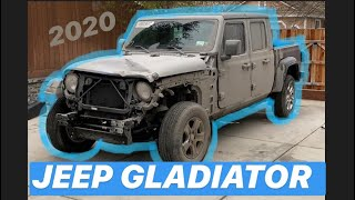 Rebuilding a Wrecked 2020 Jeep Gladiator