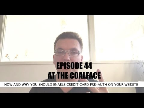 At the Coalface Episode 44 How and Why You Should Enable Credit