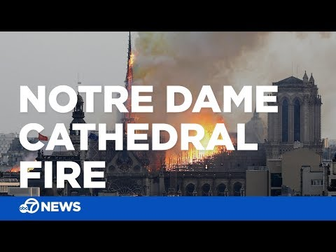 Notre Dame fire: Massive blaze at historic cathedral