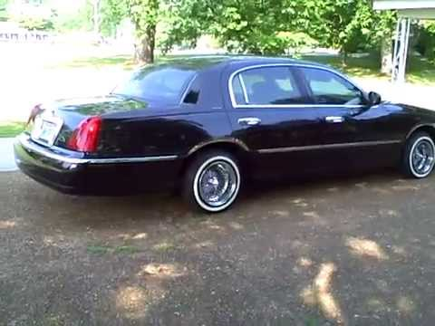 Lincoln Town Car Lowrider 2002 Youtube
