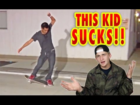 THIS KID SUCKS AT SKATING! Skate Submit #23