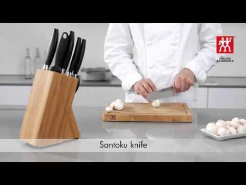 the cook 39 s knife vs the santoku funnydog tv. Black Bedroom Furniture Sets. Home Design Ideas