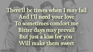 The Dells Stay In My Corner lyrics