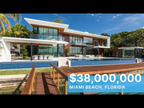 Step Inside A $38 Million Dollar Miami Beach Modern MASTERPIECE