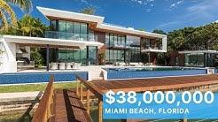 Step Inside a $38 Million Dollar Miami Beach Modern MASTERPIECE
