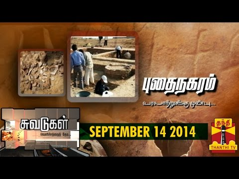Suvadugal - A Documentary on Prehistory and Fossils in Tamil Nadu (14/09/2014) - Thanthi TV