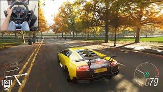 Lamborghini Murcielago LP670-4 SV - Forza Horizon 4 | Logitech g29 gameplay