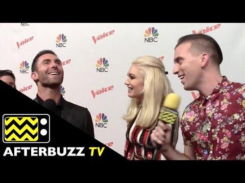 Adam Levine and Gwen Stefani @ The Voice Red Carpet | AfterBuzz TV