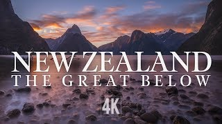 New Zealand by Drone (Inspire 2 4K)