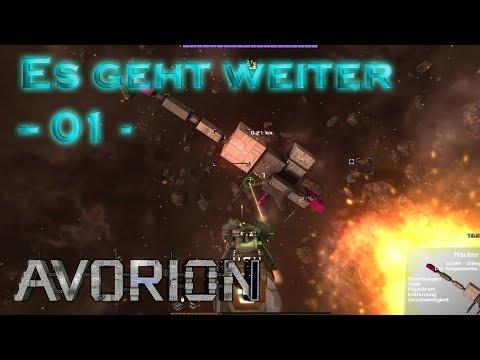 Es geht weiter - Avorion 01