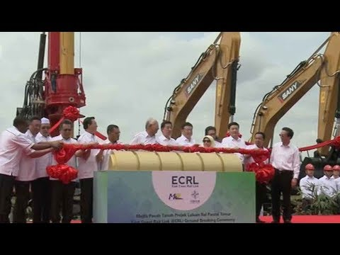 Chinese finance boosts Malaysia's rail construction work