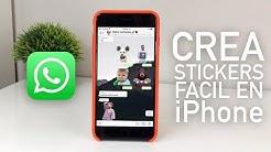 Como Hacer Stickers Para WhatsApp En iPhone