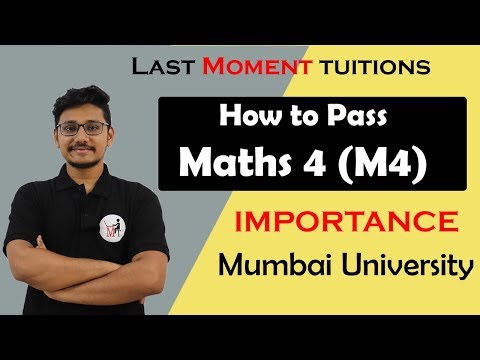 How to Pass Maths 4 |  Engineering Maths 4 Importance thumbnail