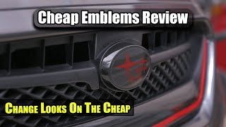 Cheap WRX Emblems Review