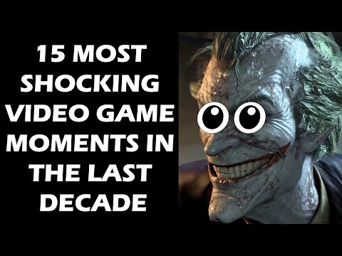 15 Most SHOCKING Video Game Moments In The Last DECADE