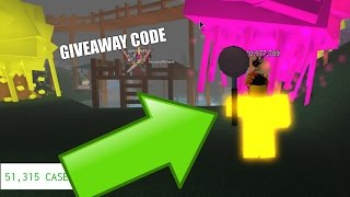 (CC) Roblox Case Clicker 2500/Common Case Opeining +*+PLUS)+*+ Giveaway Code!