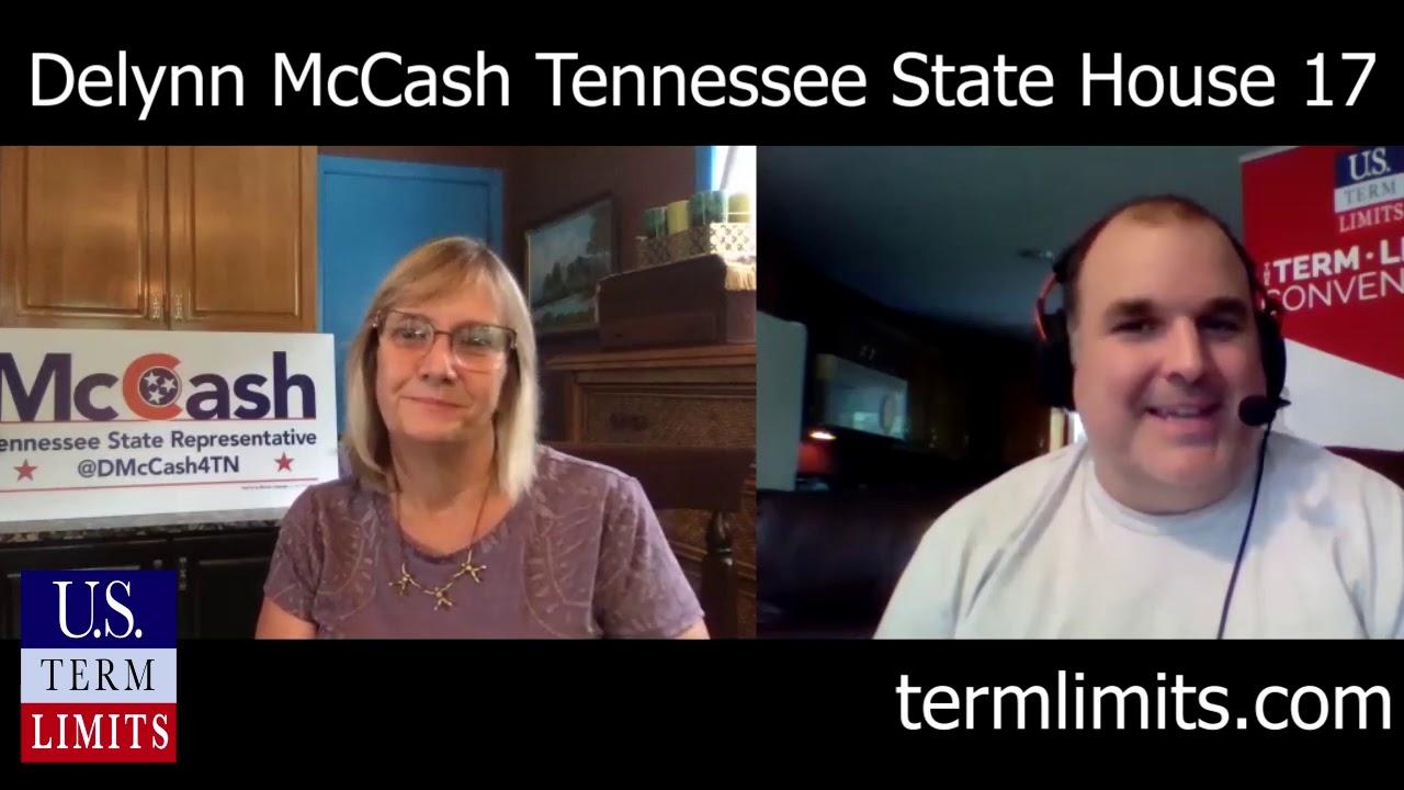 Delynn McCash supports term limits TN House 17