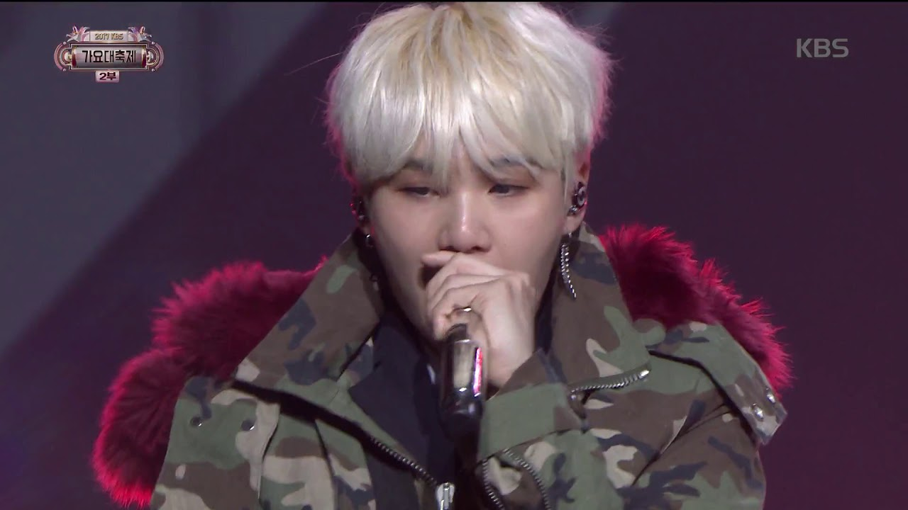 2017 KBS가요대축제 Music Festival - 방탄소년단 - BTS Cypher4 (BTS Cypher4 - BTS). 20171229