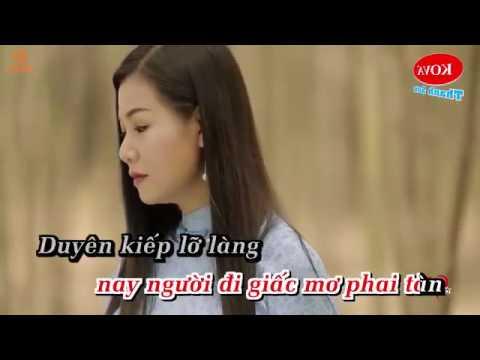 KARAOKE  Tình Vội Chia Ly -Dương Hồng Loan ft Duy Trường Beat Phối chuẩn