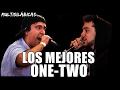 LOS MEJORES ONE-TWO | Freestyle Rap (Multisilábicas) [Batallas de Gallos]