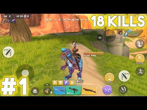 18 KILLS SHOW   Ride Out Heroes Gameplay #1 HD [ANDROID]