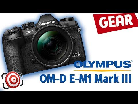 Olympus OM-D E-M1 Mark III - featuring Starry AF Autofocus.