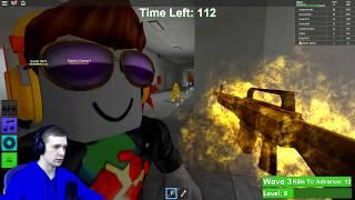 - ЗОМБИ Апокалипсис в ROBLOX Зомби ЗАХВАТИЛИ ПЛАНЕТУ в Роблокс FFGTV выживаем с Зомби Zombie Rush