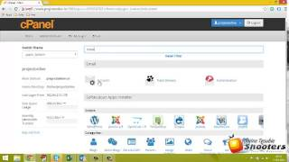 Creating Email Address using Cpanel