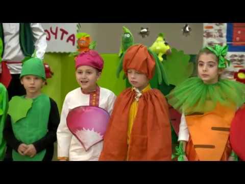 Спектакль «Герои овощной грядки» от учащихся 2 «А» класса
