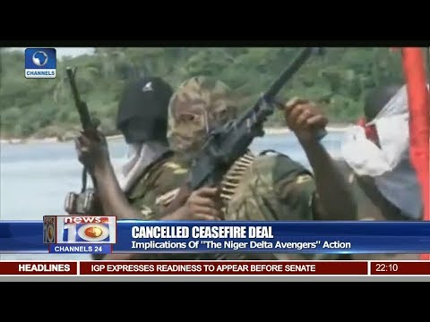 Niger Delta Avengers Announce End Of Ceasefire