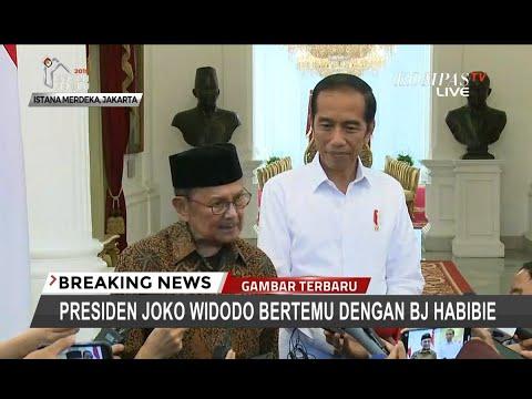 [FULL] Usai Bertemu dengan Presiden Joko Widodo, Ini Pernyataan BJ Habibie