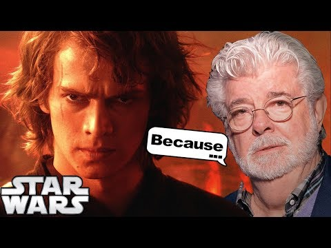 George Lucas Reveals WHY Anakin Thought the Jedi Are Evil Point of View  Star Wars Theory Explains