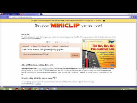 How to download Miniclip Games