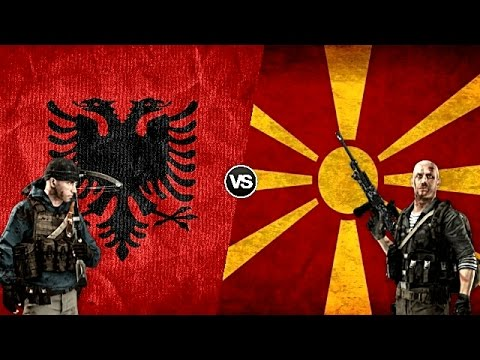 ALBANIA VS FYROM - Military Power Comparison 2017