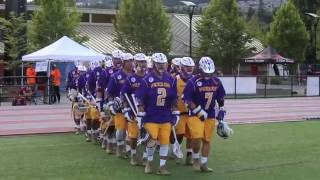 Iroquois Nationals vs EnglandWorld Field Lacrosse highlight