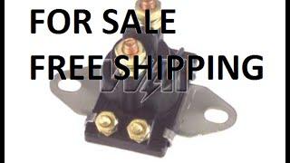 Starter Solenoid Relay Switch Mercury Marine tilt-trim mercury inboard 165 HP