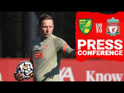 Liverpool's Carabao Cup press conference | Pep Lijnders previews Norwich City
