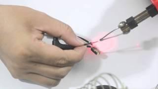 Cách chế tai nghe và mic điện thoại dùng trên PC