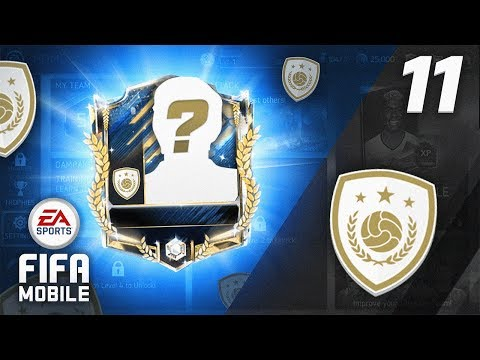 UNLOCKING OUR FIRST ICON! (F2P) - FIFA Mobile RTG #11
